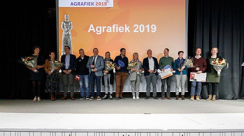 Laureaten Agrafiek 2019