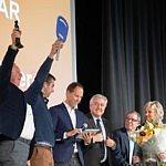 Winnaars Agrafiek 2019:  loonbedrijf Deroo uit West-Vleteren en Verstraeten Agritechnieken